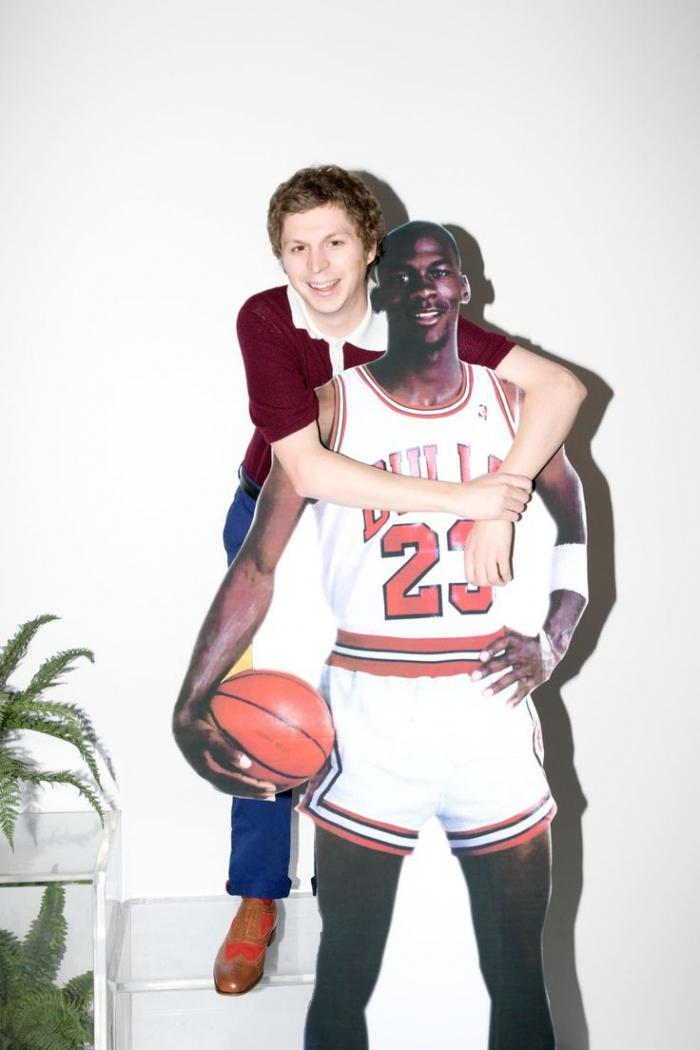 I\'ll never be as happy as Michael Cera hugging Michael Jordan