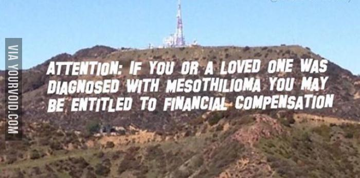 Hollywood Sign Vandalized Again
