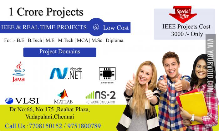 IEEE projects in Chennai